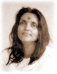 Индийская святая Анандамайи Ма
